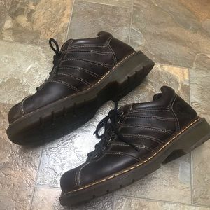 Dr. Martens brown leather boots size 11